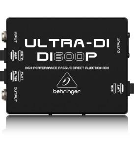 ULTRA-DI DI600P Passieve DI-Box Behringer