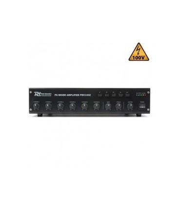 4-Zone Versterker Power Dynamics PDV240Z 240W/100V