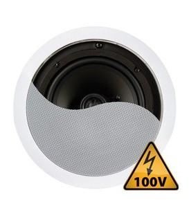 """Plafondspeaker 100V / 8 Ohm 8"""" 120W Power Dynamics CSPT8"""