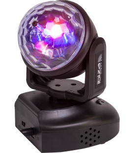 LED Moving Head 6x3w RGB met Astro Effect Ibiza LMH-ASTRO