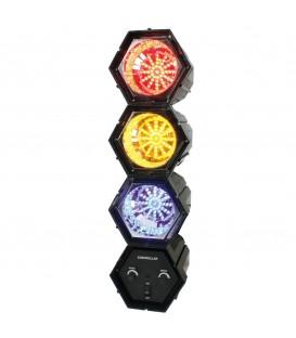 Muziekgestuurd LED lichteffect, meerdere kleuren BXL-LINKLED10