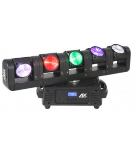 5-HEAD SUPER BEAM LED MOVING HEAD ENDLESS ROTATION AFX BLADE5-FX