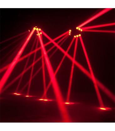 SPIDER Lichteffect met 3x3 12watt CREE LEDS AFX 9BEAM-FX