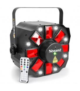 Multi Acis III LED's met Laser en DMX beamZ