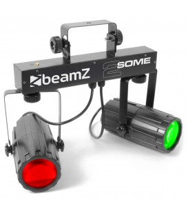 2-Some Lichtset 2x 57 RGBW LEDs BeamZ
