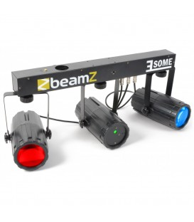 3-Some Lichtset 2x 57 RGBW LED's met Laser R/G BeamZ
