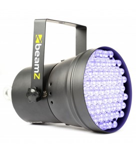 PAR36 Spot DMX  55 Ultraviolet 10mm LEDÂ's beamZ 151.266