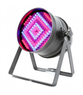 PAR64 Can RGB DMX 180 x 10mm LED's beamZ 151.242