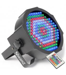 LED FlatPAR  154 x 10mm RGBW + IR DMX beamZ 151.226