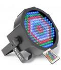 LED FlatPAR 154 x 10mm RGBW + IR DMX beamZ 151.226