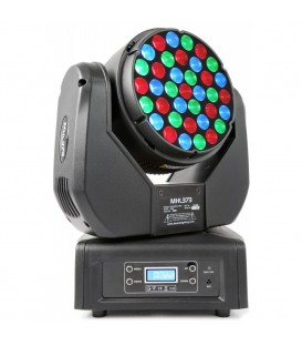 LED Moving Head 37x 3W RGB 14 kan. DMX BeamZ Professional MHL373