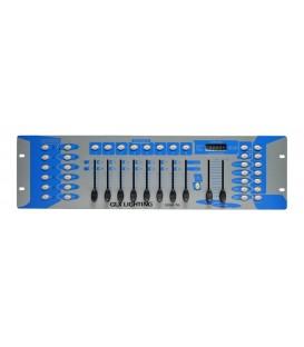 "192-Kanaals Controller 19"" GLX-DMX-192 GLX-DMX-16"