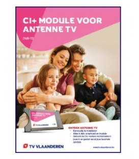 TV Vlaanderen Antenne TV CI+ Module en Smartcard