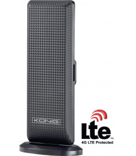 Actieve DVB-T/T2 - DAB+ Bin. Ant. +28dB FM / VHF / UHF KN-DVBT-IN52L