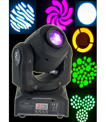 PARTY LED MOVING HEAD 10W COLOR GOBO DMX PARTY-SPOT7