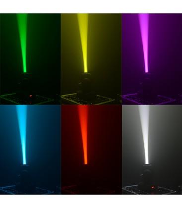 4 STUKS PARTY LED MOVING HEAD 10W DMX PARTY-SPOT7