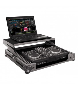 Flightcase voor DJ Controller + Laptop JV CASE 03231
