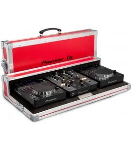 Flightcase voor 2xCD-speler en DJ Mixer PRO-250FLT-R limited ed.
