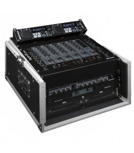 DJ Mixer Case 6U Front + 10U Top DJ CASE 10/6U JV CASE