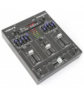 4-Kanaals Mixer Geluidseffecten SD/USB/MP3/BT STM2270