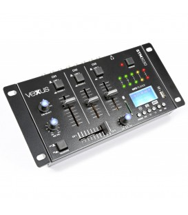 4-Kanaals Mixer USB/MP3/BT/REC Vexus STM3030