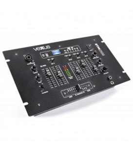 5-Kanaals Mixer USB/MP3 met BT Vexus STM2500