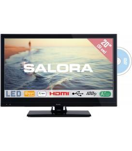 Salora 20LED9109CTS2 DVD 20inch DVB-C/T/S2 + DVD 12/230V