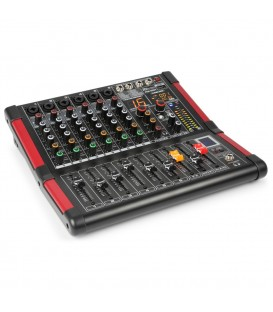 6-Kanalen Studio Mixer Power Dynamics PDM-M604