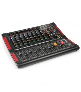 8-Kanalen Studio Mixer Power Dynamics PDM-M804