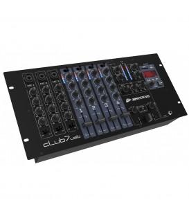 CLUB7-USB JB Systems DJ mengpaneel, 13 ingangen 7 kanalen