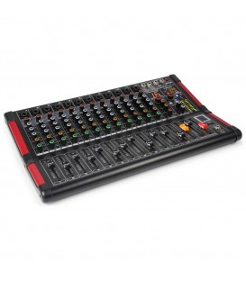 12-Kanalen Studio Mixer Power Dynamics PDM-M1204