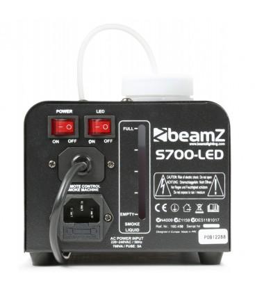 Rookmachine met ijseffect beamZ S700-LED