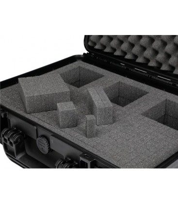 HARD CASE 54TR Trolly Flightcase 604x473x283 met pluk-foam58 met pluk-foam