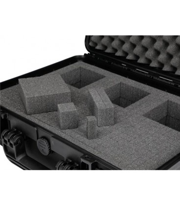 HARD CASE 54 Universele Flightcase 594x473x270 met pluk-foam