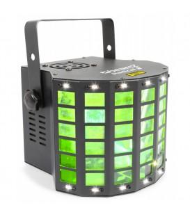 Radical II LED Derby met strobe en laser RG beamZ