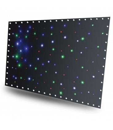 SparkleWall LED96 RGBW 3x 2m met controller beamZ