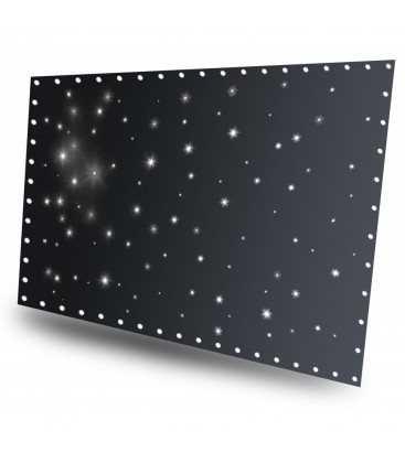 SparkleWall LED96 cool white 3x 2m met controller beamZ