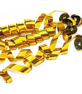 Confetti Streamers Goud Metalic 2cmX10m 20 stuks ProStage