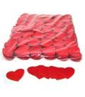 Tissue Slow Fall Confetti Rode Hartjes ECO 5x6cm 1Kg ProStage