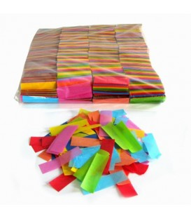 Tissue Slow Fall Confetti Multi Collor ECO 2x5cm 1Kg ProStage