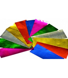 Slow Fall Confetti Multi Collor Metalic 2x5cm 1Kg ProStage