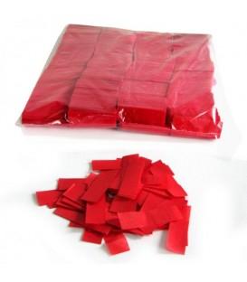 Tissue Slow Fall Confetti Rood ECO 2x5cm 1Kg ProStage