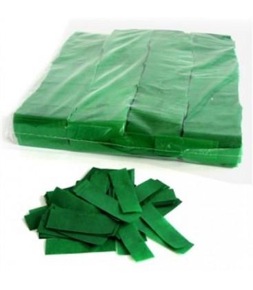Tissue Slow Fall Confetti Groen ECO 2x5cm 1Kg ProStage
