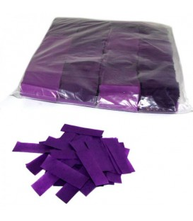 Tissue Slow Fall Confetti Paars ECO 2x5cm 1Kg ProStage