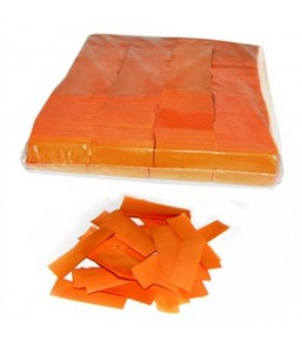 Tissue Slow Fall Confetti Oranje ECO 2x5cm 1Kg ProStage