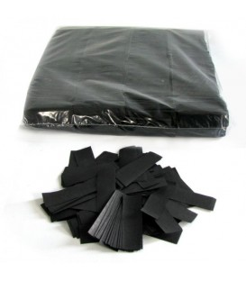 Tissue Slow Fall Confetti Zwart ECO 2x5cm 1Kg ProStage