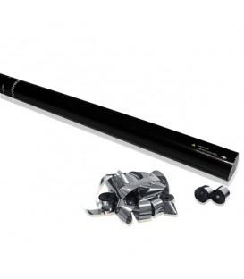 Confetti Canon 60cm Manueel Streamers Zilver Metalic ProStage