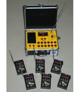 Verhuur RF1200 Vuurwerk/Confetti Launcher 1188 kanalen per/dag