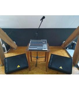 Verhuur Kleine repetitie/monitor Set PER DAG