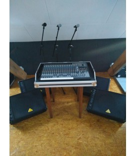 Verhuur Grote repetitie/monitor Set PER DAG